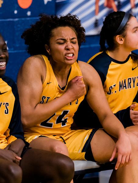 2 28 20 Austin Prep at St Marys girls basketball 7