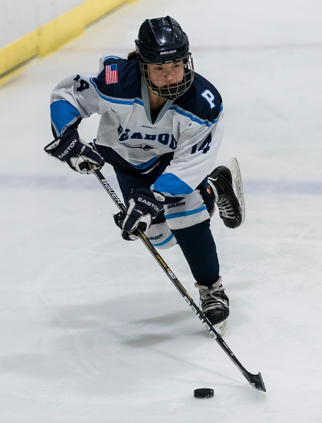 2 8 20 Beverly at Peabody Lynnfield girls hockey 1
