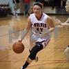 Sam Buckner for Shaw Media.<br /> Olivia Harvell drives to the basket in the regional quarterfinal against Earlville-Leland on Monday February 6, 2017.