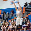 Sam Buckner for Shaw Media.<br /> Jesi Nay shoots a three pointer on Tuesday February 7, 2017.