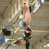 Sam Buckner for Shaw Media.<br /> Madison Hickey turns on the top the parallel bars on Wednesday February 8, 2017.