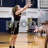 Sam Buckner for Shaw Media.<br /> Hanna Hickey of DeKalb shoots a 3 pointer in the 4A regional game against Glenbard North on Monday, Feb. 13, 2017 at James B. Conant High School in Hoffman Estates.