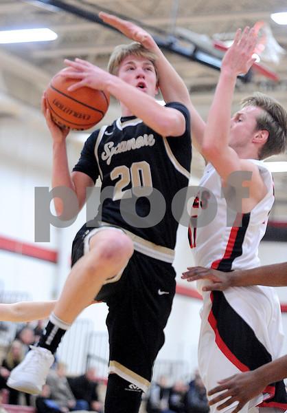 Sycamore at Yorkville boys varsity basketball