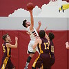 Pella, Iowa 02152016-- Davis County vs Van Buren boy's Basketball Class 2A, District 12 Quarterfinals. Courier Photo by Dan L. Vander Beek