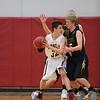 Pella, Iowa 02152016-- Eddyville-Blakesburg-Fremont vs Pella Christian boy's Basketball Class 2A, District 12 Quarterfinals. Courier Photo by Dan L. Vander Beek