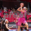 Sam Buckner for Shaw Media.<br /> Kelly Smith takes a jumpshot on Saturday February 17, 2018 against Ball State.