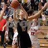 Sam Buckner for Shaw Media.<br /> Taryn Mathey puts up a layup on Monday February 20, 2017 in the regional game against Stillman Valley.