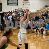 Sam Buckner for Shaw Media.<br /> Kaneland's Morgan Weber shoots a free throw in the first half of their girls basketball regional semifinal game on Tuesday, Feb. 21, 2017 at Kaneland High School in Maple Park.