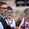 Sam Buckner for Shaw Media.<br /> Indian Creek head coach Joe Piekarz talks to Timberwolves during a timeout in their regional semifinal boys basketball game against Ashton-Franklin Center on Wednesday, Feb. 22, 2017 at Indian Creek High School in Shabbona.  Indian Creek won the game 48-45 to advance to the regional final against DePue on Friday.