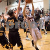 Sam Buckner for Shaw Media.<br /> Trevor Guerra of Indian Creek puts up a layup during their regional semifinal boys basketball game against Ashton-Franklin Center on Wednesday, Feb. 22, 2017 at Indian Creek High School in Shabbona.  Indian Creek won the game 48-45 to advance to the regional final against DePue on Friday.