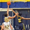 Paul DiCicco - The News-Herald<br /> Wickliffe's Stephanie Martin driving to the hoop in the first quarter.