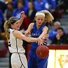 Pella, Iowa 02222016-- Pekin vs Van Meter Girls high school basketball substate at Pella Christian High School Courier Photo by Dan L. Vander Beek