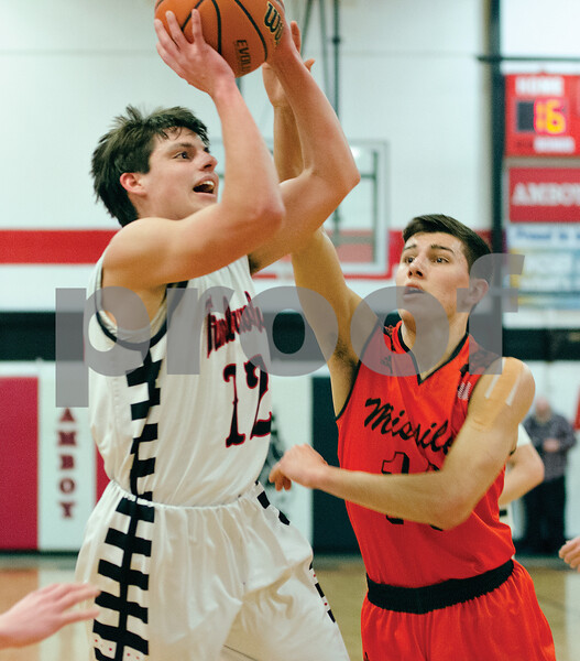 Indian Creek's Louis Faivre puts a shot up Friday night against Milledgeville.
