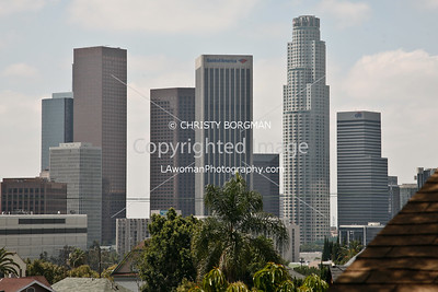 Downtown Los Angeles from Angeleno Heights