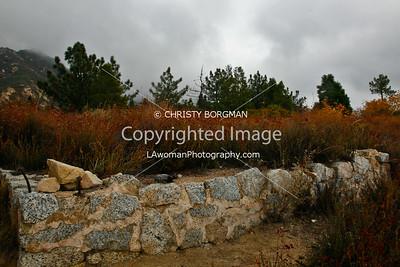 Echo Mountain resort ruins