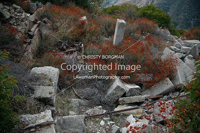 Echo Mountain resort ruins
