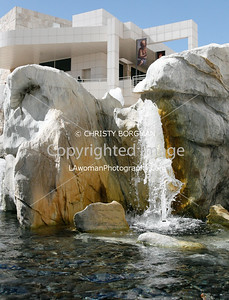 Getty Center fountain