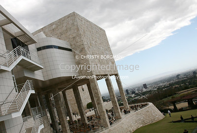 Getty Center and Garden Terrace Cafe