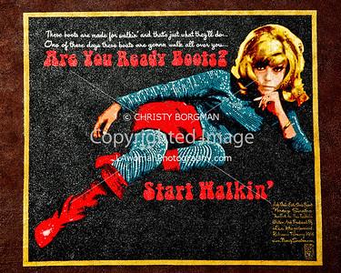 Nancy Sinatra mural
