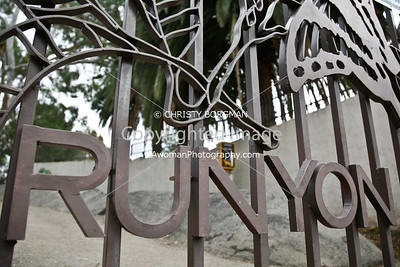Runyon Canyon entrance