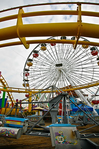 Santa Monica Pier amusements