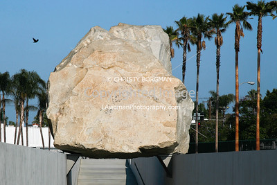"""Levitated Mass"" at Los Angeles County Museum of Art"