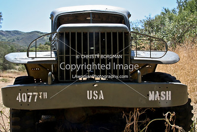 Malibu Creek State Park, M*A*S*H set
