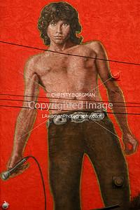 Jim Morrison mural by Rip Cronk in Venice Beach, CA