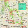 Route COS to Glacier 2011 Color