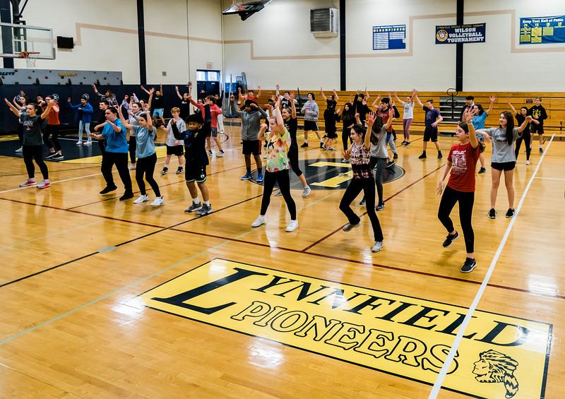 3 10 20 Lynnfield Middle School dance class10