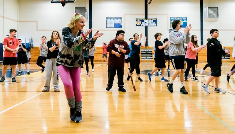3 10 20 Lynnfield Middle School dance class9