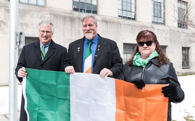 3 16 18 Irish Flag raising 3
