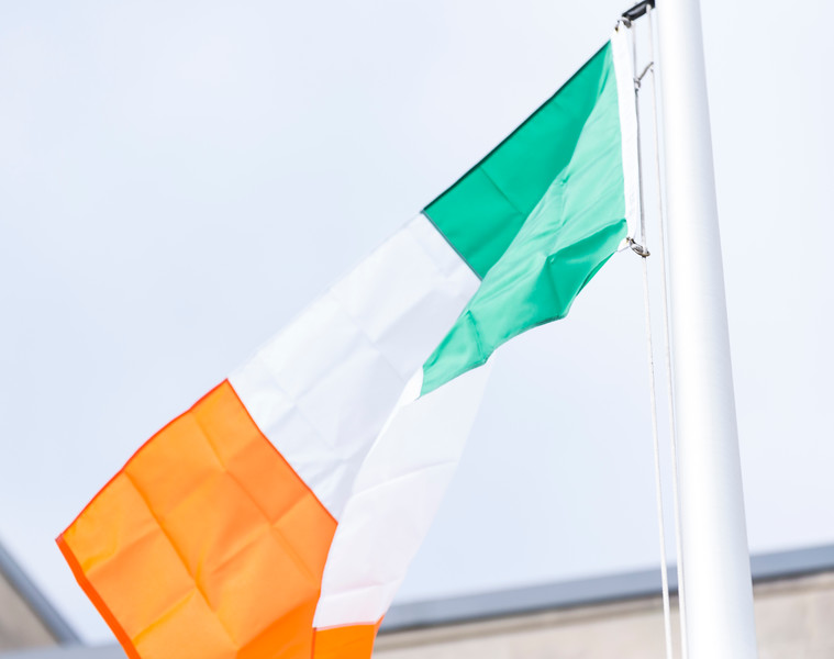 3 16 18 Irish Flag raising 4