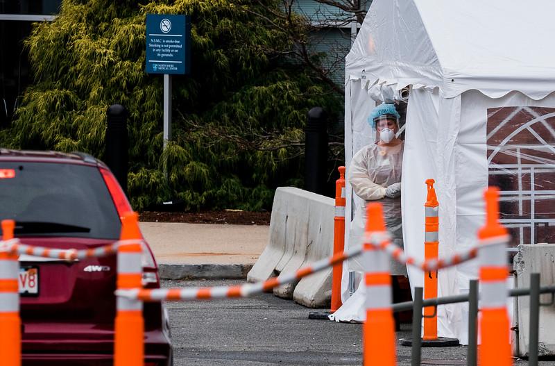 3 20 20 Lynn Union Hospital testing tent 1