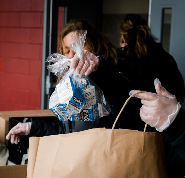3 20 20 Saugus HSHS food handout 2