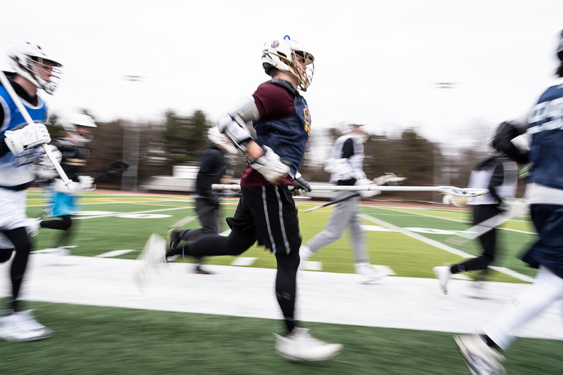 3 21 19 Peabody Bishop Fenwick boys LAX practice 12