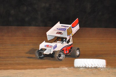 #40 Howard Moore Sprint Feature Winner