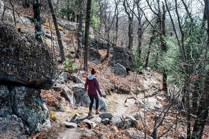 3 21 20 Lynnfield Skull Cliff evergreen 9