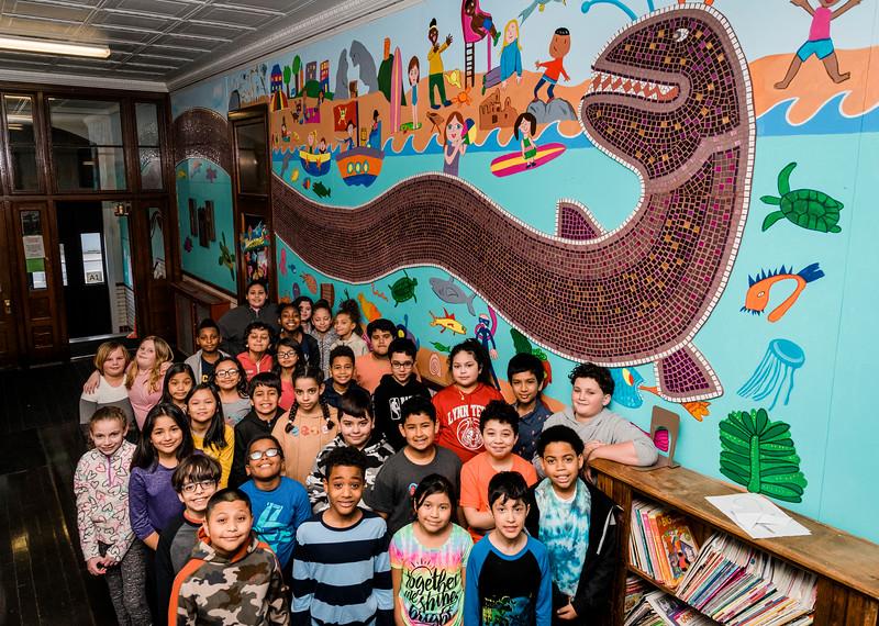 3 4 20 Lynn Brickett School mural 1