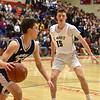 Sports. Boys Basketball St. Marys vs Hamilton Wenham 3