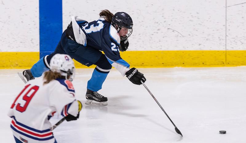 3 7 19 Peabody at Tewksbury girls hockey 9