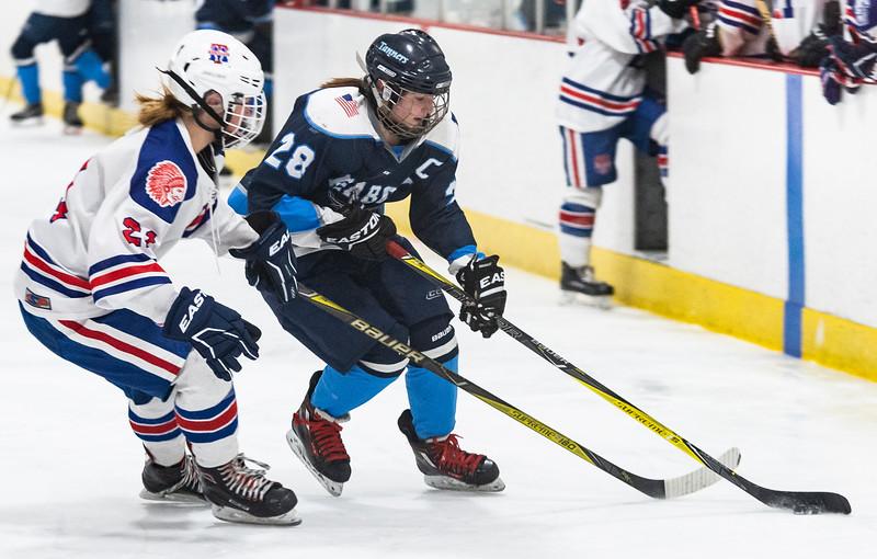 3 7 19 Peabody at Tewksbury girls hockey 13