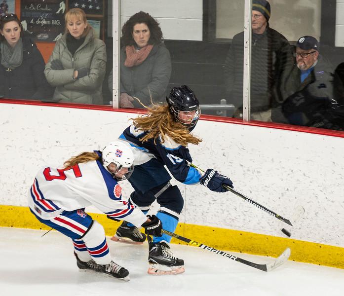 3 7 19 Peabody at Tewksbury girls hockey 14