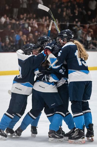 3 7 19 Peabody at Tewksbury girls hockey
