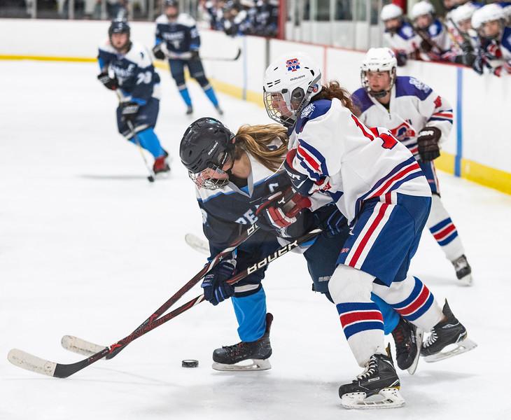 3 7 19 Peabody at Tewksbury girls hockey 12