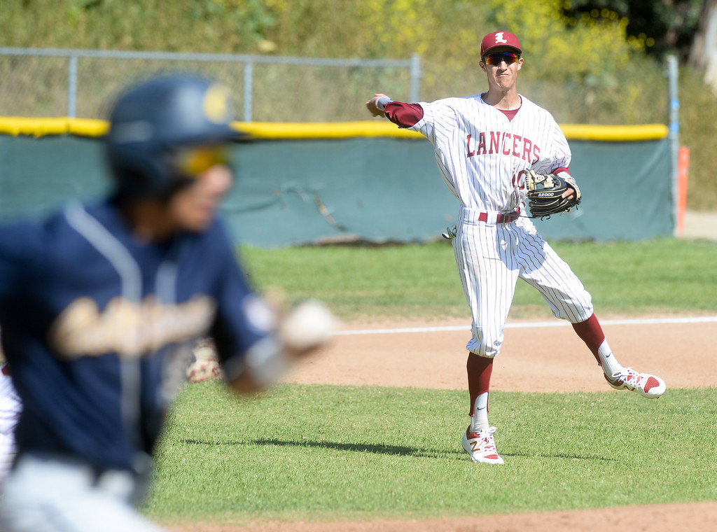 . La Serna plays California in their Del Rio League game at La Serna High School in Whittier on Wednesday April 5, 2017. (Photo by Keith Durflinger/Whittier Daily News/SCNG)