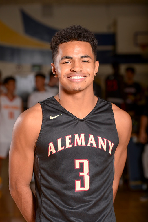 . D.J. McDonald, Alemany.  (Photo by David Crane, Los Angeles Daily News/SCNG)