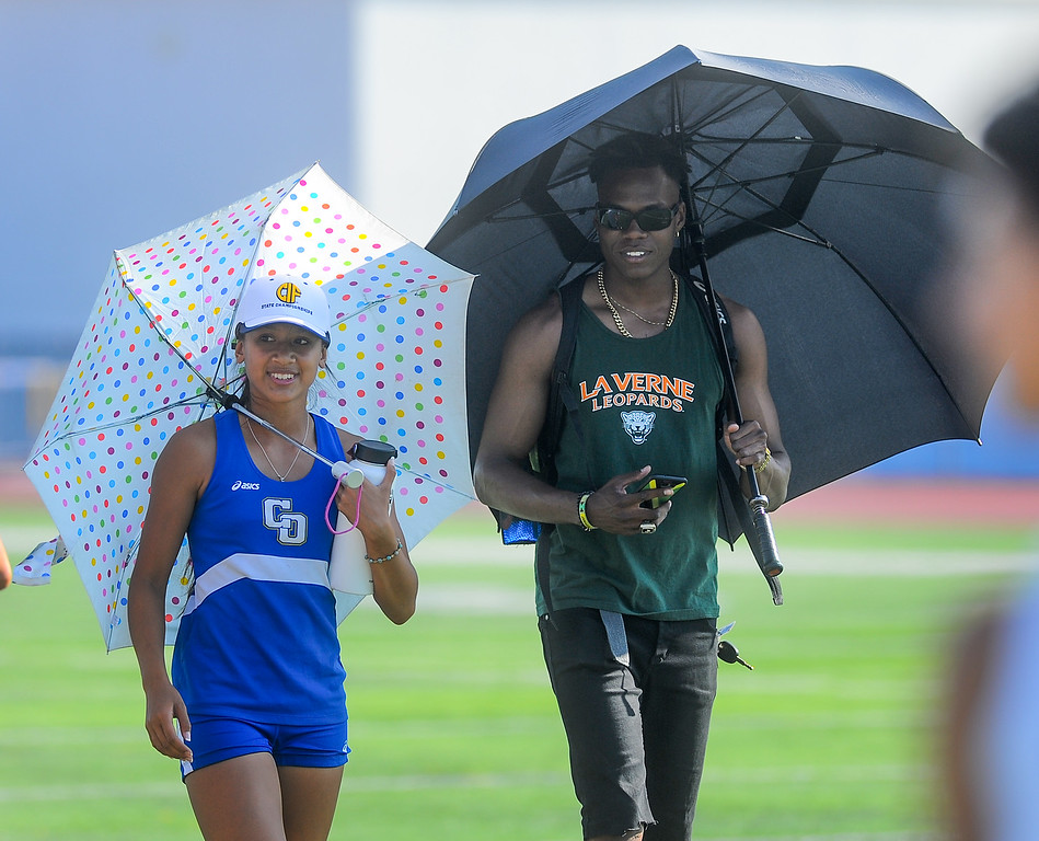 . Athletes compete in the Hacienda League track finals at Walnut High School in Walnut on Thursday May 4, 2017. (Photo by Keith Durflinger/Whittier Daily News/SCNG)