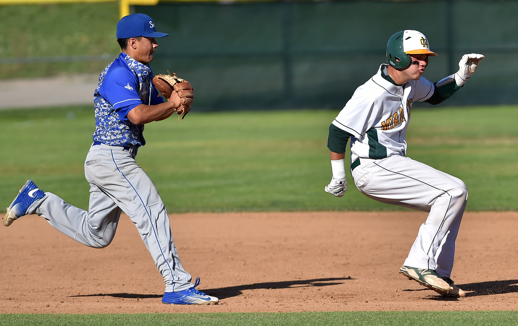 . Mira Costa beat visiting San Dimas 7-3 in CIF Southern Section Div 2 baseball playoff game played Friday May 19, 2017. Photo By  Robert Casillas, Daily Breeze/ SCNG