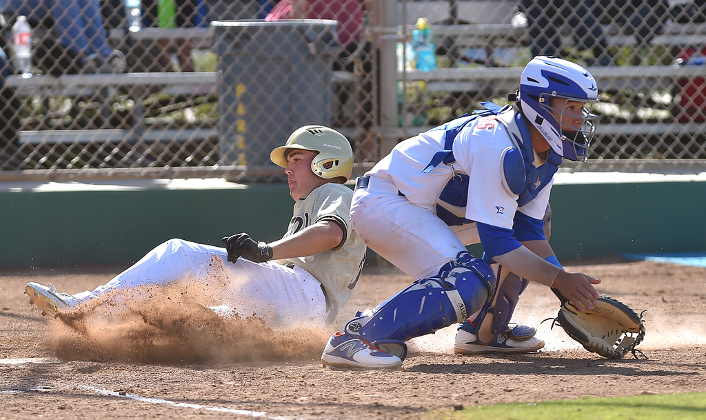. El Segundo beat visiting West Torrance 6-3 in first round CIF Southern Section Division 3 baseball playoffs Thursday May 18, 2017.  Photo By  Robert Casillas, Daily Breeze/ SCNG